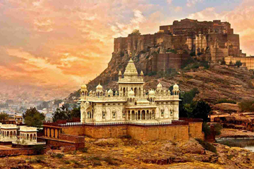 Golden Triangle Tour with Jodhpur Udaipur